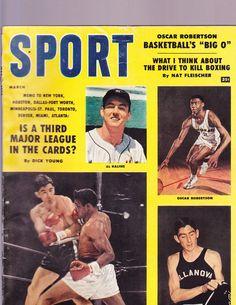 VINTAGE SPORT MAGAZINE-MARCH, 1959- KALINE-PATTERSON-NO LABEL- NEWSSTAND