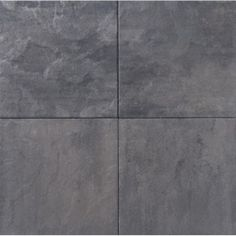 Terras Tegel 60x60x5 Leisteen Grijs Zwart € 16,95 per m2 www.bestratingsmarkt.com