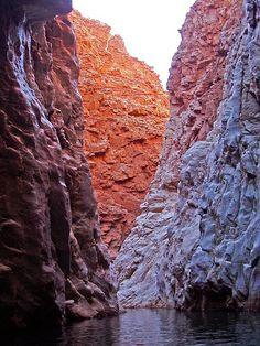 Waterhole at Redbank Gorge; Wonderful Places, Beautiful Places, Darwin Australia, Alice Springs, Berg, Tasmania, Running Away, Caves, National Parks