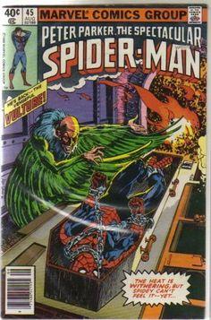 Peter Parker the Spectacular Spiderman 45 by Marvel Comics, http://www.amazon.com/dp/B002IFESTO/ref=cm_sw_r_pi_dp_NB1fqb12K757H