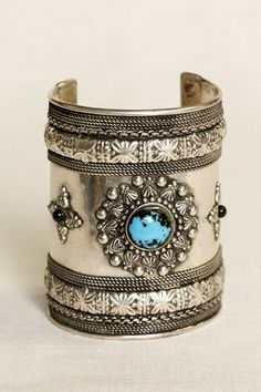Bohemian bracelets - Silver star from India