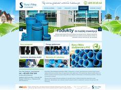 WebDesign 2014 - grafika dla firmy Filtry i Rury Studzienne