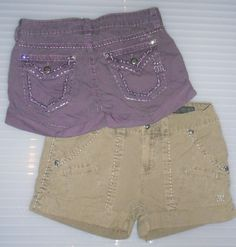 Miss Me Shorts in Purple and Green! Who can Resist? Summer Clothes, Summer Outfits, Miss Me Outfits, Miss Me Shorts, Casual Shorts, Short Dresses, Purple, Jeans, Green