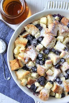 Blueberry Baked French Toast