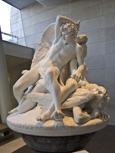 The Rebel Angels. Salvatore Albano , Italian, (marble)1841-1893 Brooklyn museum of Art. NYC