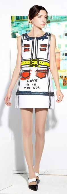 "Alice + Olivia - Resort 2015 Dress - ""Which is it, of the favours of your Lord, that ye deny?"" Surah Rahman, 13"