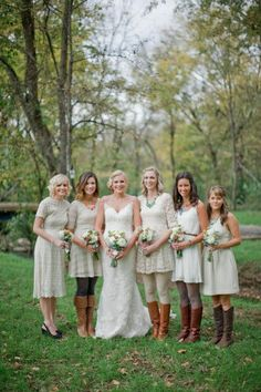 Tennessee Backyard Wedding from Leslee Mitchell Bridal Party Dresses, Bridesmaid Dresses, Wedding Dresses, Bridesmaids, Wedding Attire, Wedding Bells, Wedding Inspiration, Wedding Ideas, Style Inspiration