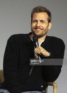 Actor Gabriel Macht attends the Meet the Actor: Gabriel Macht, 'Suits' at Apple Store Soho on January 27, 2016 in New York City.