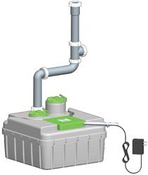 Buy an Aqus System only $185.00 -  Point-of-Use Greywater Recycling System