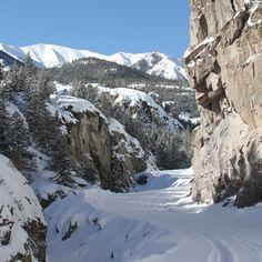 Lake City Colorado.  It was -3 when I awoke.  So beautiful....