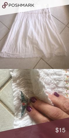 HARD TAIL SKIRT Beautiful summer skirt in great condition• perfect addition to your bundle! 💸 Hard Tail Skirts Midi