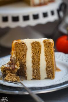 Apple Cider Spice Cake with Salted Caramel Drizzle makes a showstopping dessert
