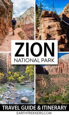 Zion National Park: how to plan your perfect itinerary. Best hikes and things to do in Zion, with recommendations on how to spend 1 to 5 days (and more) in the park. #zion #nationalpark #adventuretravel #usa