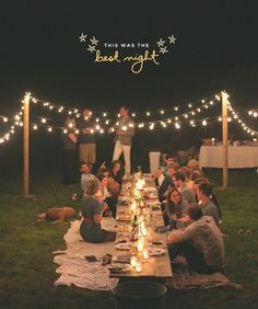 outdoor dinner party inspiration // the fresh exchange q lindo for an outdoor party o picnic! Outdoor Dinner Parties, Party Outdoor, Picnic Parties, Outdoor Cocktail Party, Outdoor Entertaining, Home Parties, Outdoor Fun, Outdoor Wedding Lights, Outdoor Sweet 16