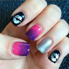 Jill Stewart with color changing gel polish by DIY Hard Nails - Gel Nails Diy Hard Nails, Cute Gel Nails, Diy Nails, Shellac Nail Designs, Nail Manicure, Nail Art Designs, Nails Design, Home Gel Nail Kit, Gel Nails At Home
