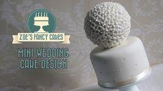 Mini wedding cake idea spherical deisgn How to Cake Tutorial