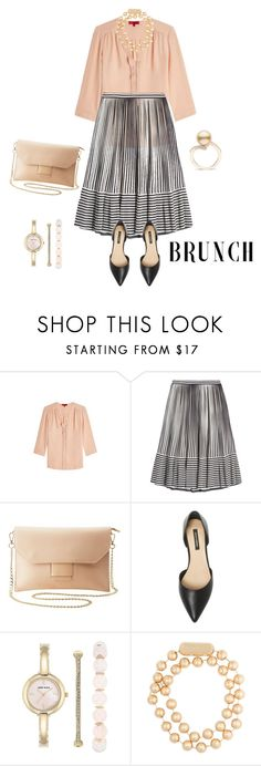 """outfit 6158"" by natalyag ❤ liked on Polyvore featuring HUGO, Marco de Vincenzo, Charlotte Russe, Ava & Aiden, Anne Klein and Balenciaga"
