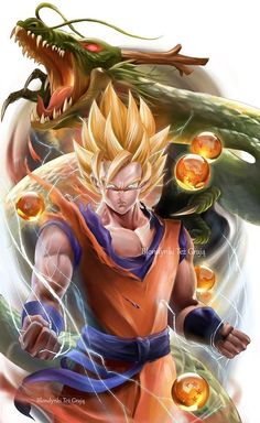 Dragon Ball Songo, Blondynki Też Grają on ArtStation at https://www.artstation.com/artwork/v8zKY