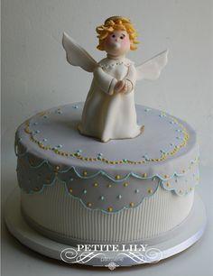 Bolo Batizado/ anjinho/ angel/ cake / baptism