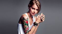 20 Unique Half Sleeve Tattoos for Women in 2021 - The Trend Spotter Half Sleeve Tattoo Cost, Unique Half Sleeve Tattoos, Unique Tattoos For Women, Shoulder Tattoos For Women, Sleeve Tattoos For Women, Traditional Tattoo Art, Cover Up Tattoos, Meaningful Tattoos, Sleeve Designs