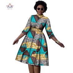 Plus Size african dresses O- neck dress for – Owame African Attire, African Wear, African Women, African Fashion, African Dresses Plus Size, Short African Dresses, African Traditional Dresses, Traditional Outfits, Ankara Gown Styles