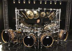 Terry Bozzio Drum Kit