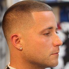 Nice low cut taper fade... Love this clean cut