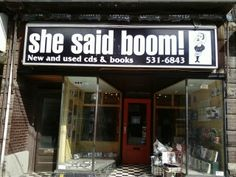 Portrait of a Record Store: She Said Boom! Roncesvalles  http://www.torontoreviewofbooks.com/2013/06/portrait-of-a-record-store-she-said-boom-roncesvalles/