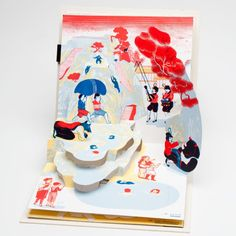 » Icinori 手工製作的立體書