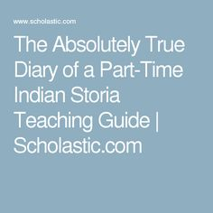 Character analysis of junior in the absolutely true diary of a part time indian a novel by sherman a