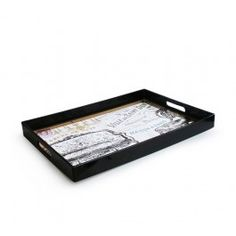 Notions by Jay Rectangular Serving Tray with Handles