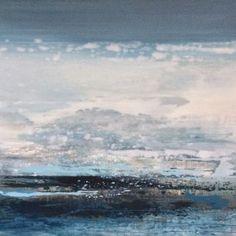 atlantic tide painting by rebecca mclynn