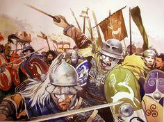 La guerre des Gaules: La charge des Gaulois