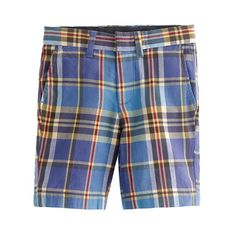 Boys' Indian cotton club short in Eastwick plaid - AllProducts - sale - J.Crew