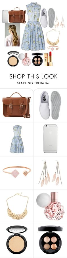 """""""Summertime"""" by shelbiewoerman ❤ liked on Polyvore featuring beauty, The Cambridge Satchel Company, Vans, French Connection, Native Union, Michael Kors, Charlotte Russe, LORAC, MAC Cosmetics and Yves Saint Laurent"""