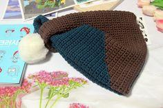 [후와후와 젤리얀] japanese knot bag 코바늘로 뜬 배색 너트 크로셰 뜨개 가방 : 네이버 블로그 Crochet Bag Tutorials, Winter Hats, Crochet Hats, Beanie, Bags, Fashion, Style, Knitting Hats, Handbags