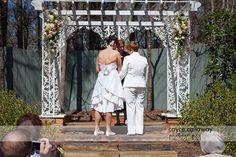 A Wedding Ceremony at the Payne Corley House, Atlanta GA