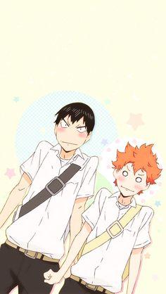 Haikyuu!! Kageyama and Hinata
