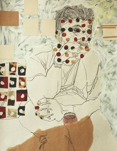 "Saatchi Art Artist Golriz Rezvani; Drawing, ""Clock Puncher"" #art"