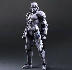 Square Enix a révélé les premières photos officielles de leurs deux prochaines figurines Star Wars. Après les versions samouraïs de Darth Vader et Stormtrooper, voici leurs versions remaniées et élégantes de Boba Fett et Stormtrooper. Des détails à découvrir dans la suite.