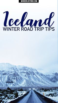 Read travel tips for a road trip in Iceland in winter. Find out what it's like in Iceland in winter, driving in Iceland in winter, and Ring Road in winter #Iceland #RoadTrip