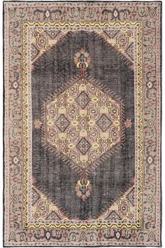 Georgia Area Rug - For something with more color and pattern which I saw some of your pins had, I like this overdid/detressed looking persian style.