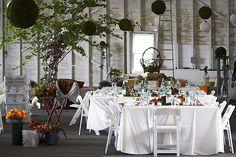 Mil y una ideas para la boda: Centros de mesa sin flores