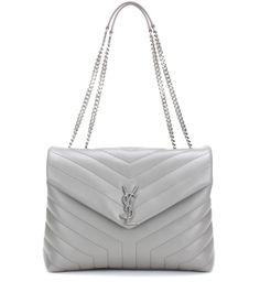 Saint Laurent - Loulou Medium quilted leather shoulder bag - Saint Laurent  strikes the right note 80e2450e49