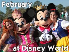 February at Disney World can best be characterized as a time with mild temps, relatively light crowds and lots of refurbishments. Except for President's Day weekend, Disney World in February is mostly low crowds and low prices. However, going during a time when there's less people visiting comes...
