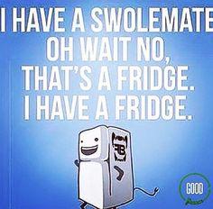 Gym humor...I have a fridge