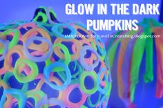 Happy Monday Y'all! It's Jaderbomb here with some exciting news!!!   If you remember last year I made some Glow in the Dark pumpki...