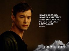 That's a long list of sins, Michael. We'll be here all night... #Dominion