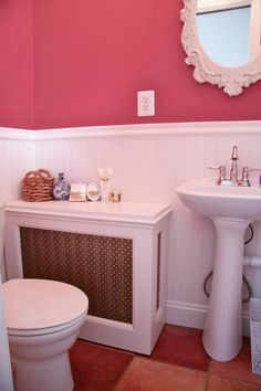 Make Your Own Radiator Covers for Extra Shelf Space | Apartment Therapy