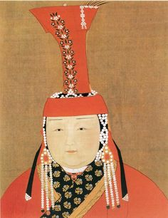 Börte Ujin, the first wife of Genghis Khan.